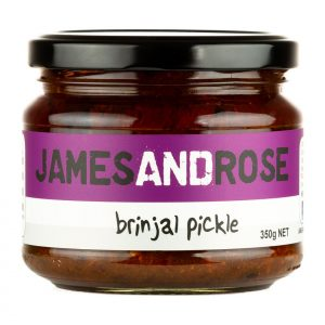 James and Rose - Brinjal Pickle