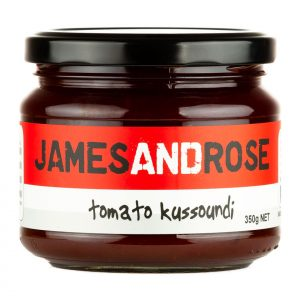 James and Rose - Tomato Kussoundi