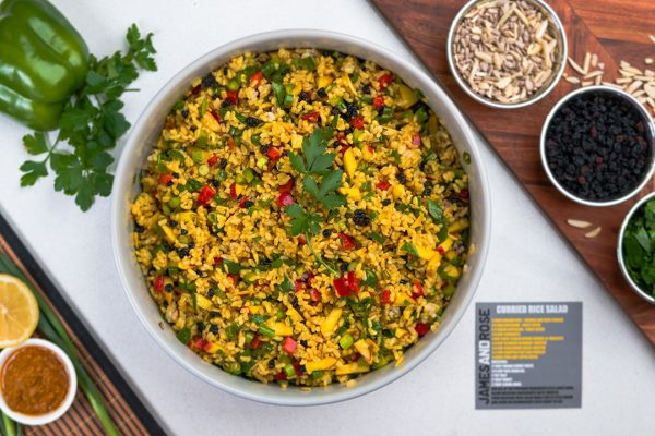 Curried Rice Salad (James and Rose)